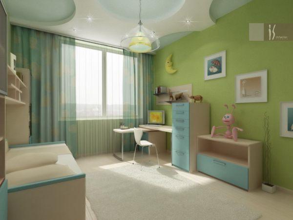 Интерьер детской комнаты | Стройка и ремонт