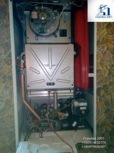 Котел газовый турбированный изнутри