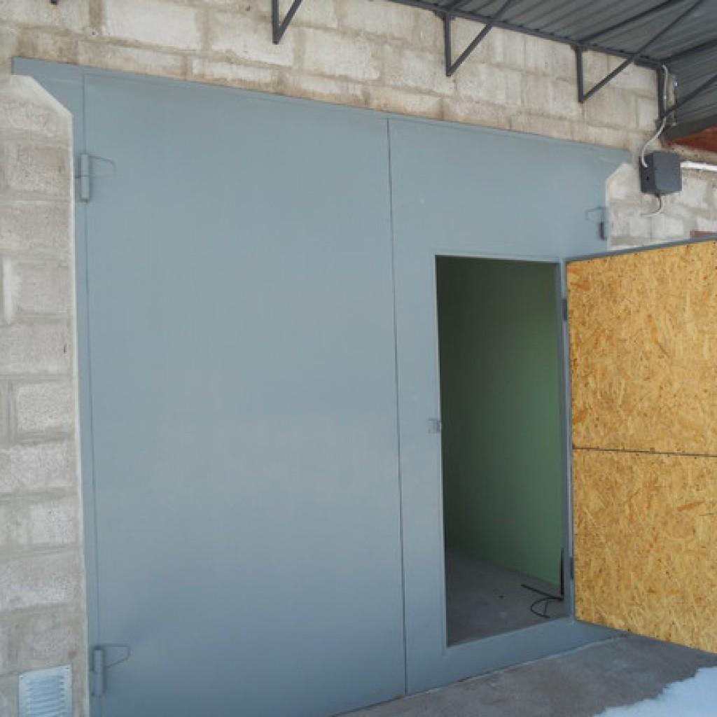 isolerat garage utan värme