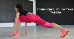Тренировки по системе табата: видео