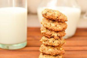 Диетическое овсяное печенье из овсяных хлопьев рецепт с фото пошагово