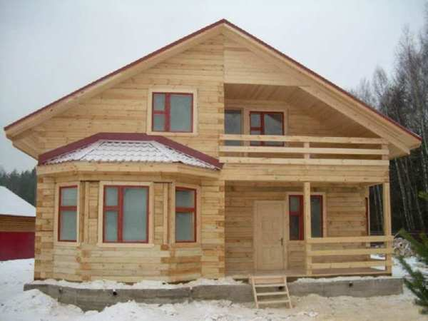 Строительство дома из бруса своими руками | ГЛАВНАЯ