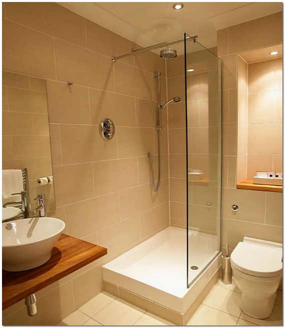 Дизайн ванных комнат с душевой кабиной в типовой квартире