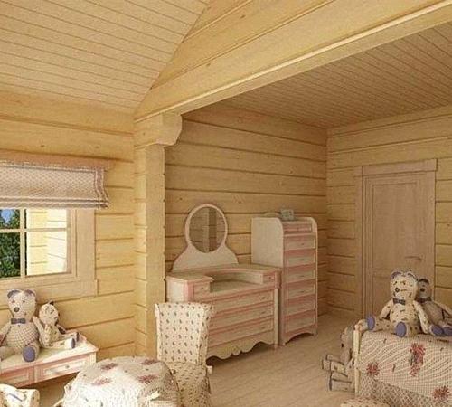 Внутренняя отделка деревянного дома рекомендуемые