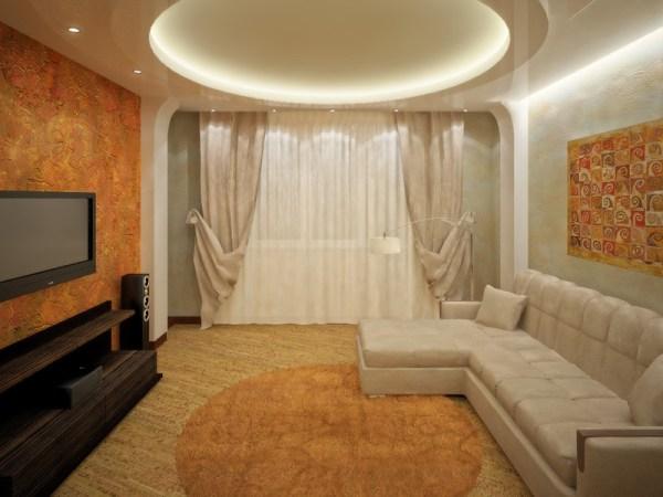 Ремонт зала в квартире своими руками | Строительный портал