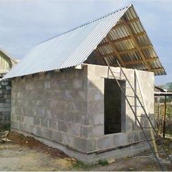 Баня из пеноблоков своими руками | Строительный портал
