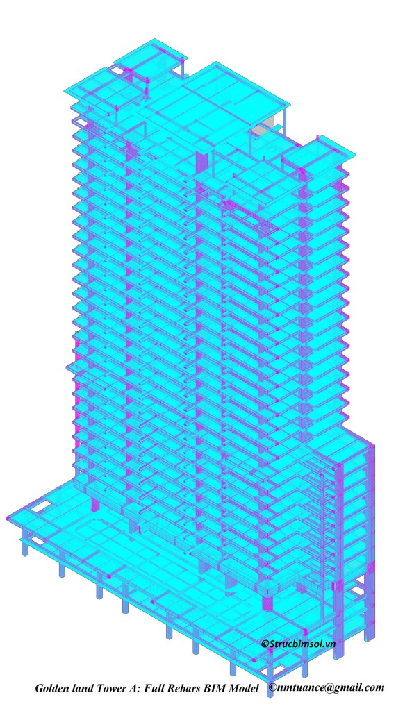 GL_TowerA_All_Rebars_BIM Model