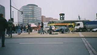 Street musicians near the Sony Center. © David-Kevin Bryant
