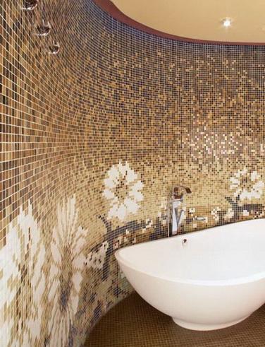 Mosaikfliesen Mosaik Bad