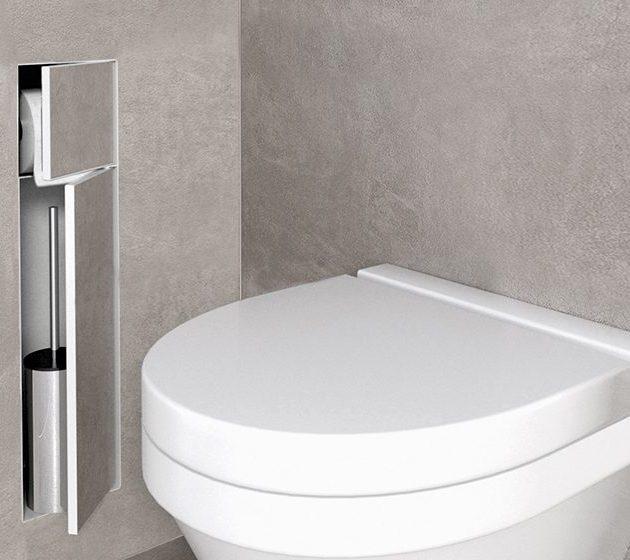 Wandnische Box WC-Bürstenhalter