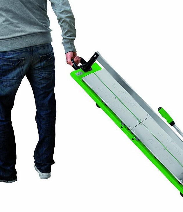 BTC 1250 Verleihwerkzeuge Fliesenschneider Fliesen schneiden bis 125 cm leichter Transport