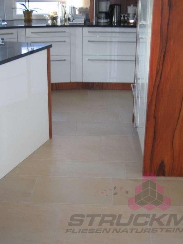 Bodenfliesen Küche Wohnbereich