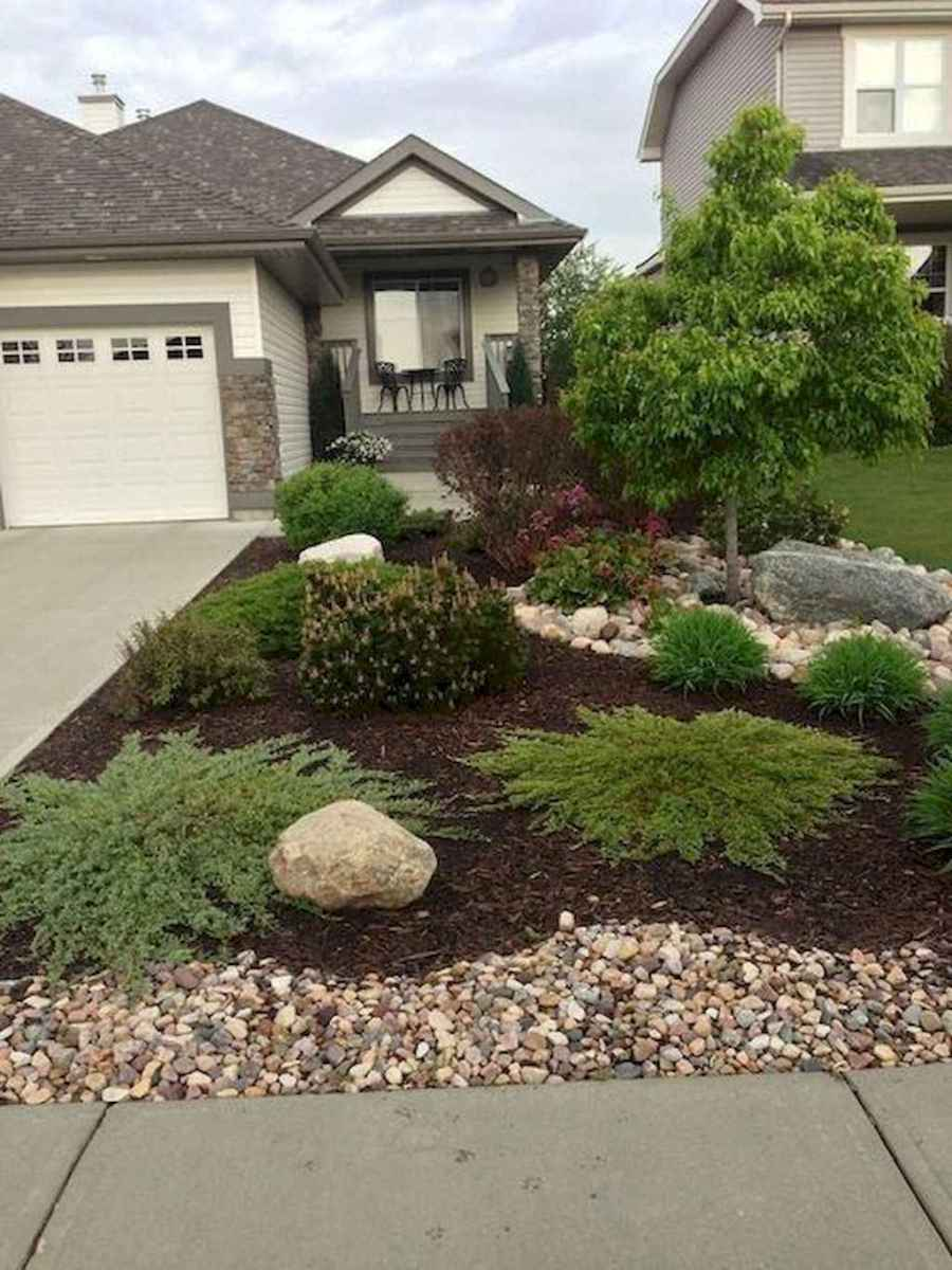 09 low maintenance front yard landscaping ideas