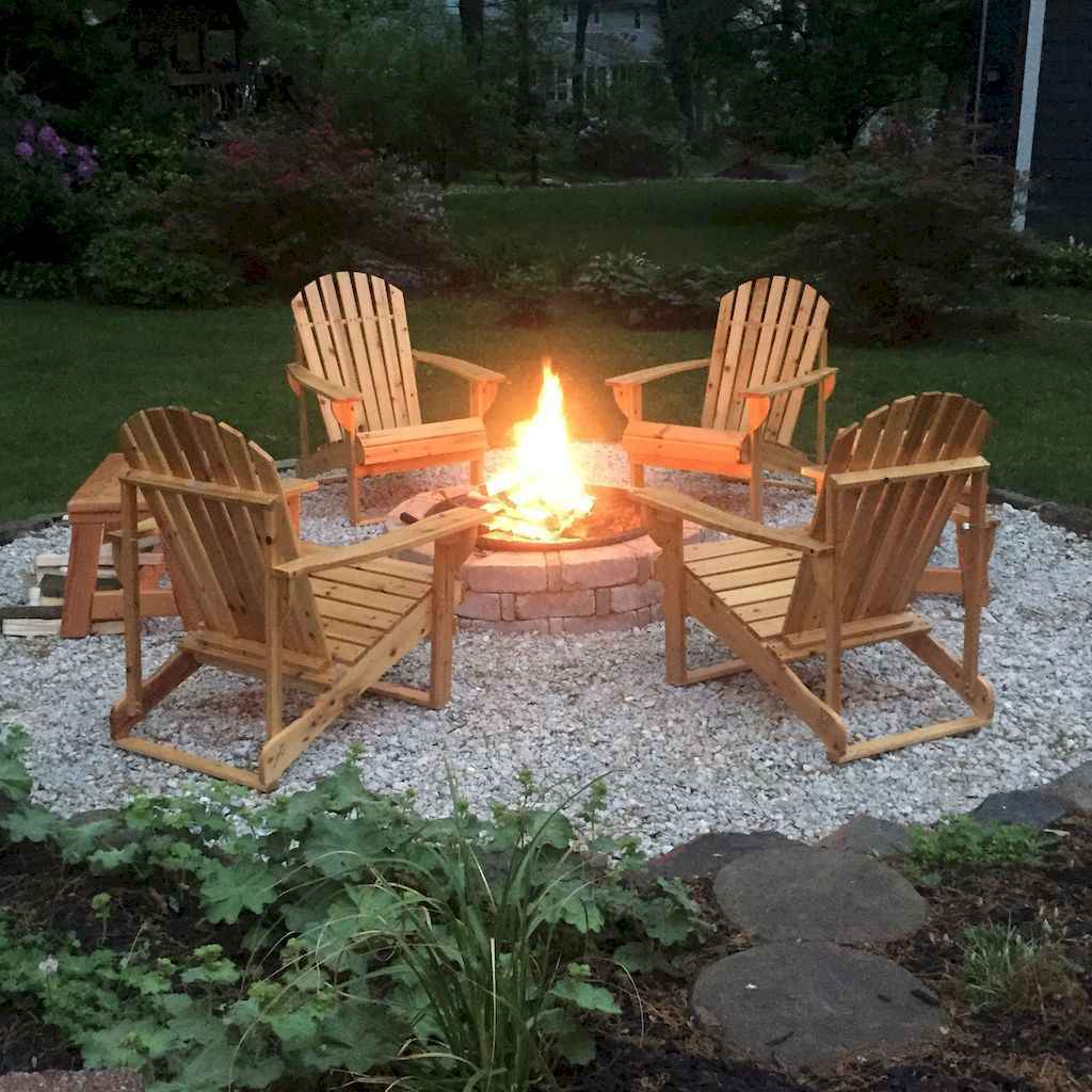 10 easy diy fire pit ideas for backyard landscaping