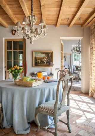 15 fancy french country dining room decor ideas
