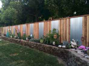 16 simple and cheap privacy fenceideas