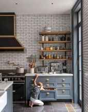17 rustic kitchen decor with open shelves ideas
