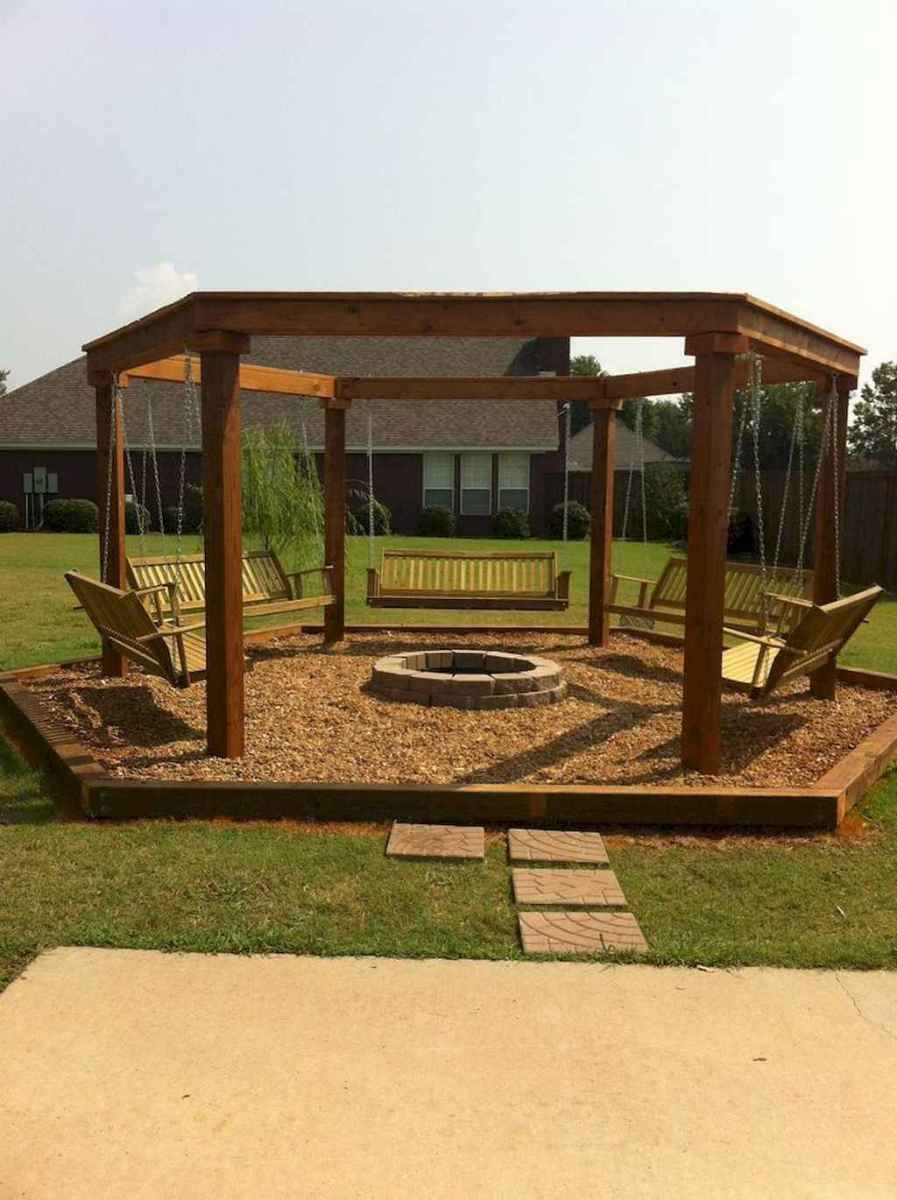 20 easy diy fire pit ideas for backyard landscaping