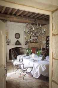 22 fancy french country dining room decor ideas