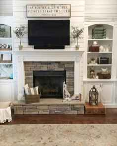 29 small fireplace makeover decor ideas