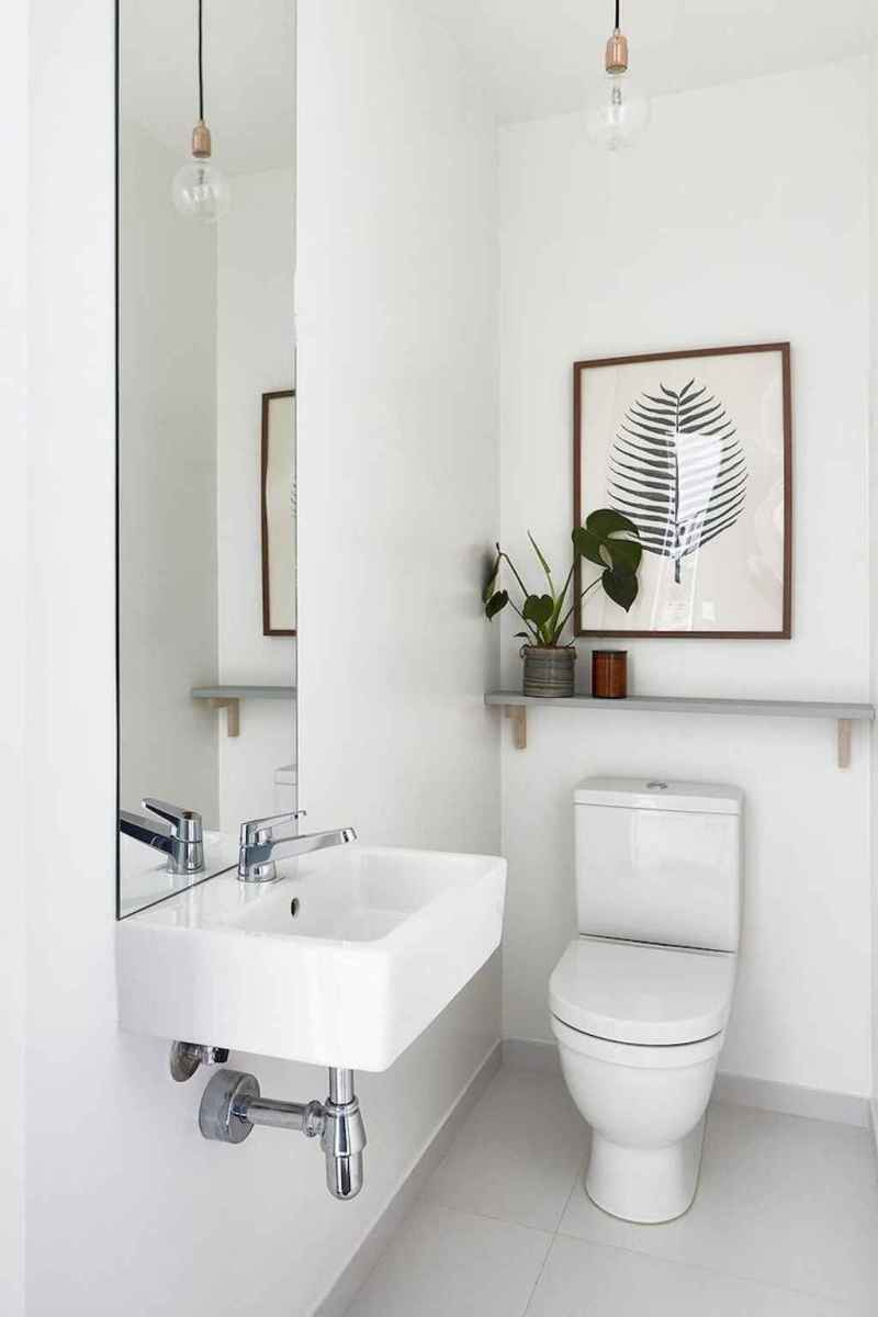 36 guest bathroom makeover decor ideas on a budget