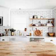 40 rustic kitchen decor with open shelves ideas