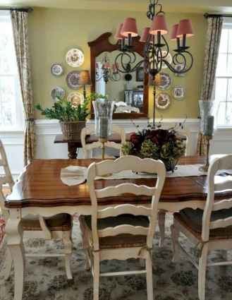 42 fancy french country dining room decor ideas