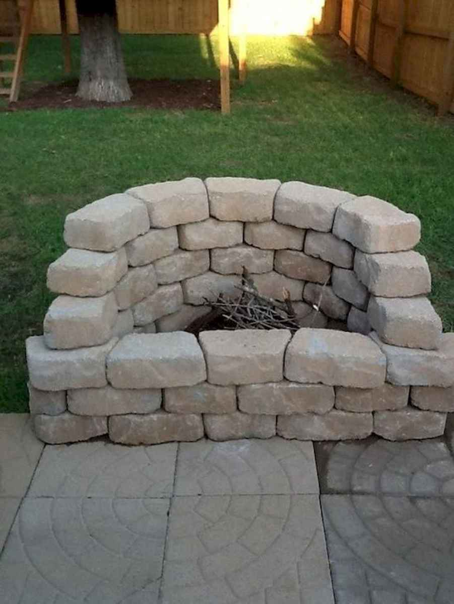 45 easy diy fire pit ideas for backyard landscaping
