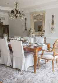 48 fancy french country dining room decor ideas