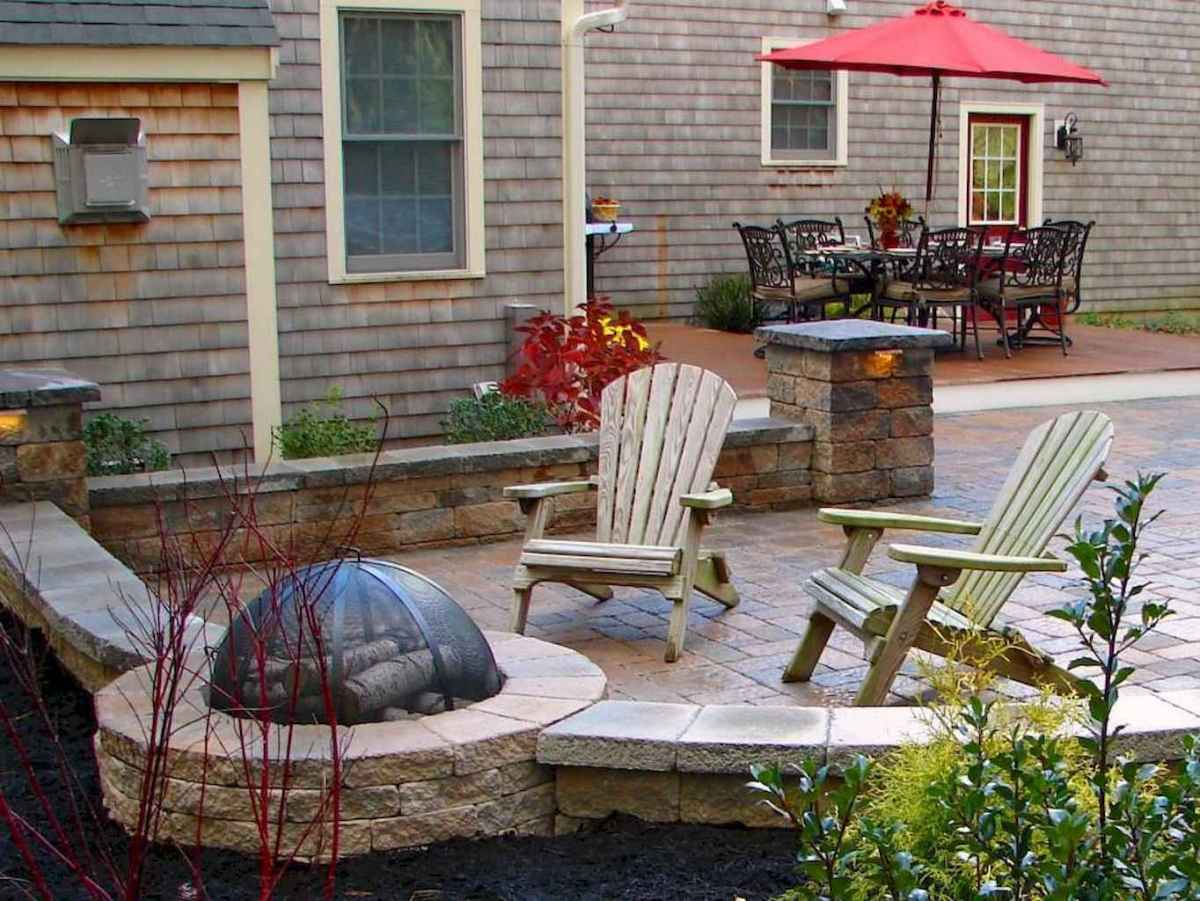 53 easy diy fire pit ideas for backyard landscaping