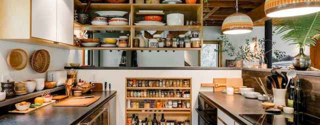 60 rustic kitchen decor with open shelves ideas
