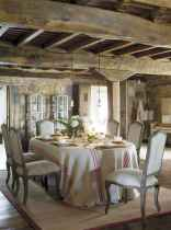 63 fancy french country dining room decor ideas