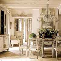 69 fancy french country dining room decor ideas
