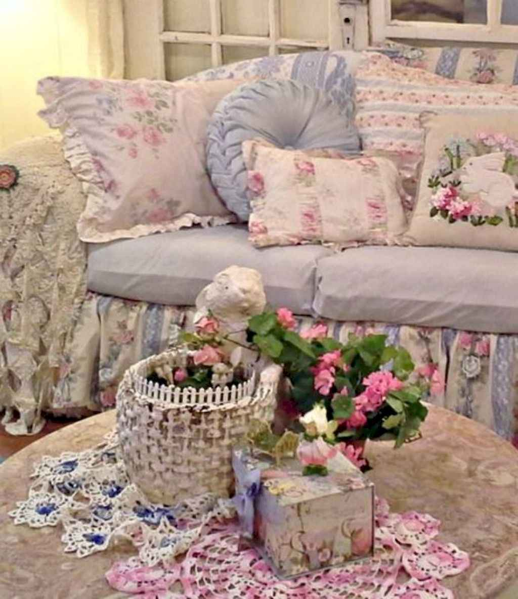 73 shabby chic living room decorating ideas