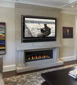 79 small fireplace makeover decor ideas