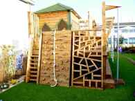 18 diy playground project ideas for backyard landscaping