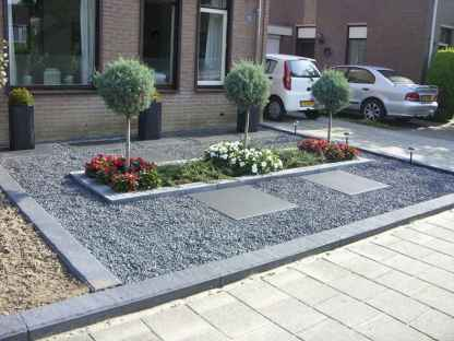 44 simple and beautiful front yard landscaping ideas