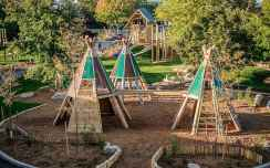 45 diy playground project ideas for backyard landscaping