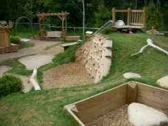 46 diy playground project ideas for backyard landscaping