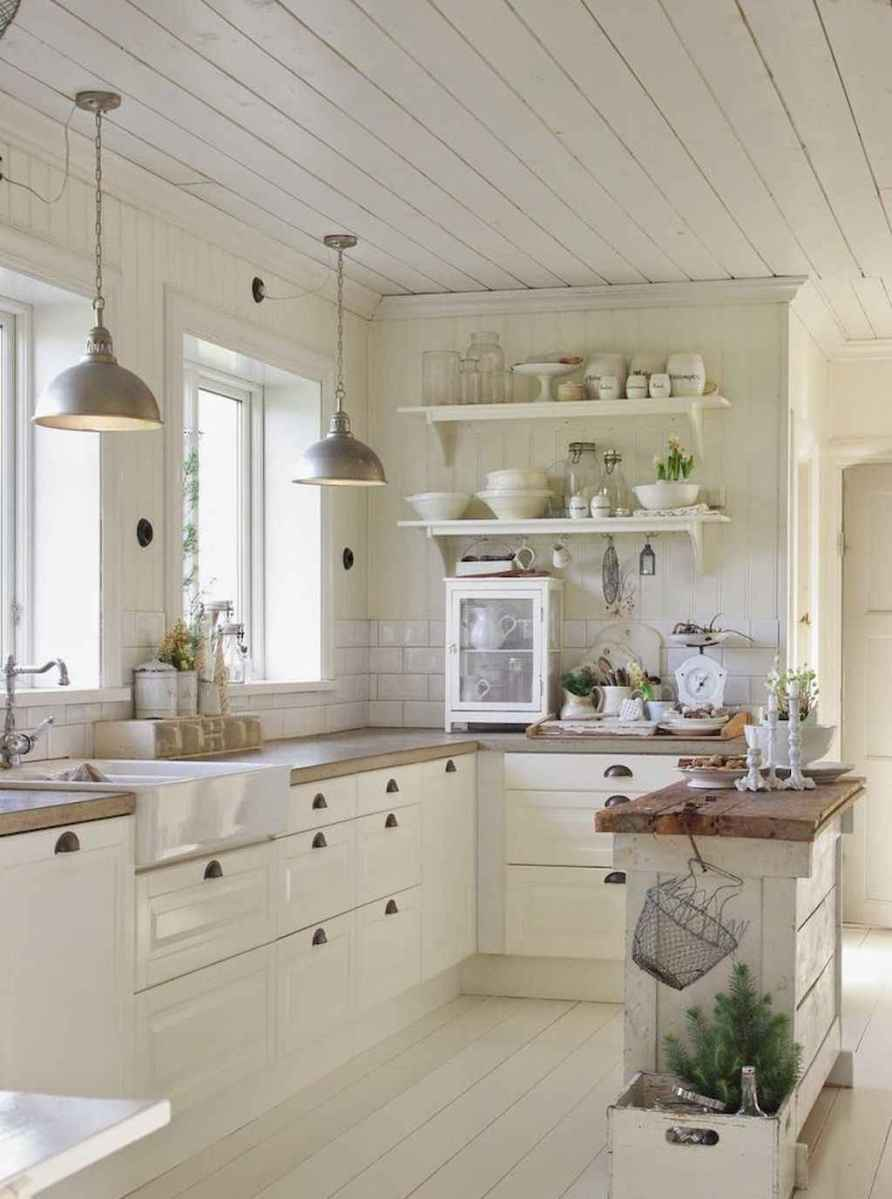 50 modern farmhouse kitchen cabinets makeover ideas
