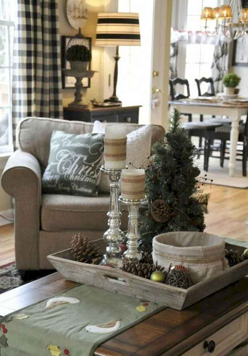 08 cozy christmas living rooms decorating ideas