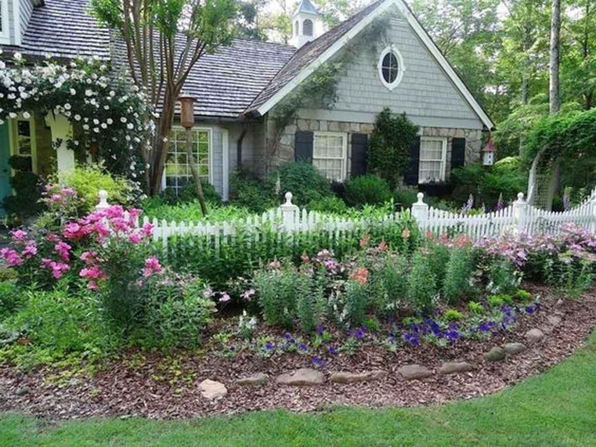 19 beautiful front yard cottage garden inspiration ideas