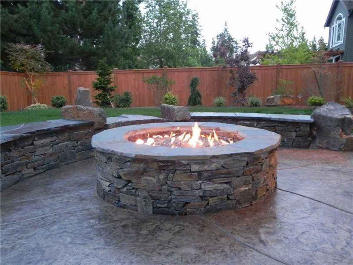 23 cozy outdoor fire pit seating design ideas for backyard