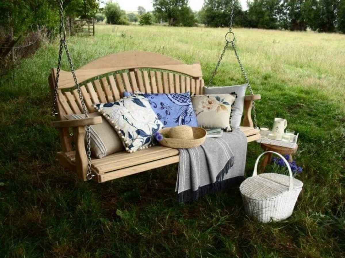 27 best backyard garden swing seats for summer