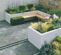 35 small courtyard garden with seating area design ideas