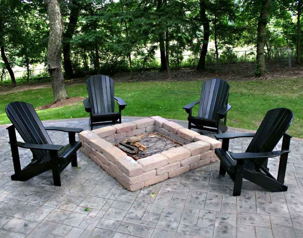 38 cozy outdoor fire pit seating design ideas for backyard