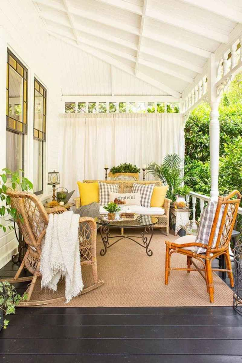 40 amazing summer front porch seating ideas
