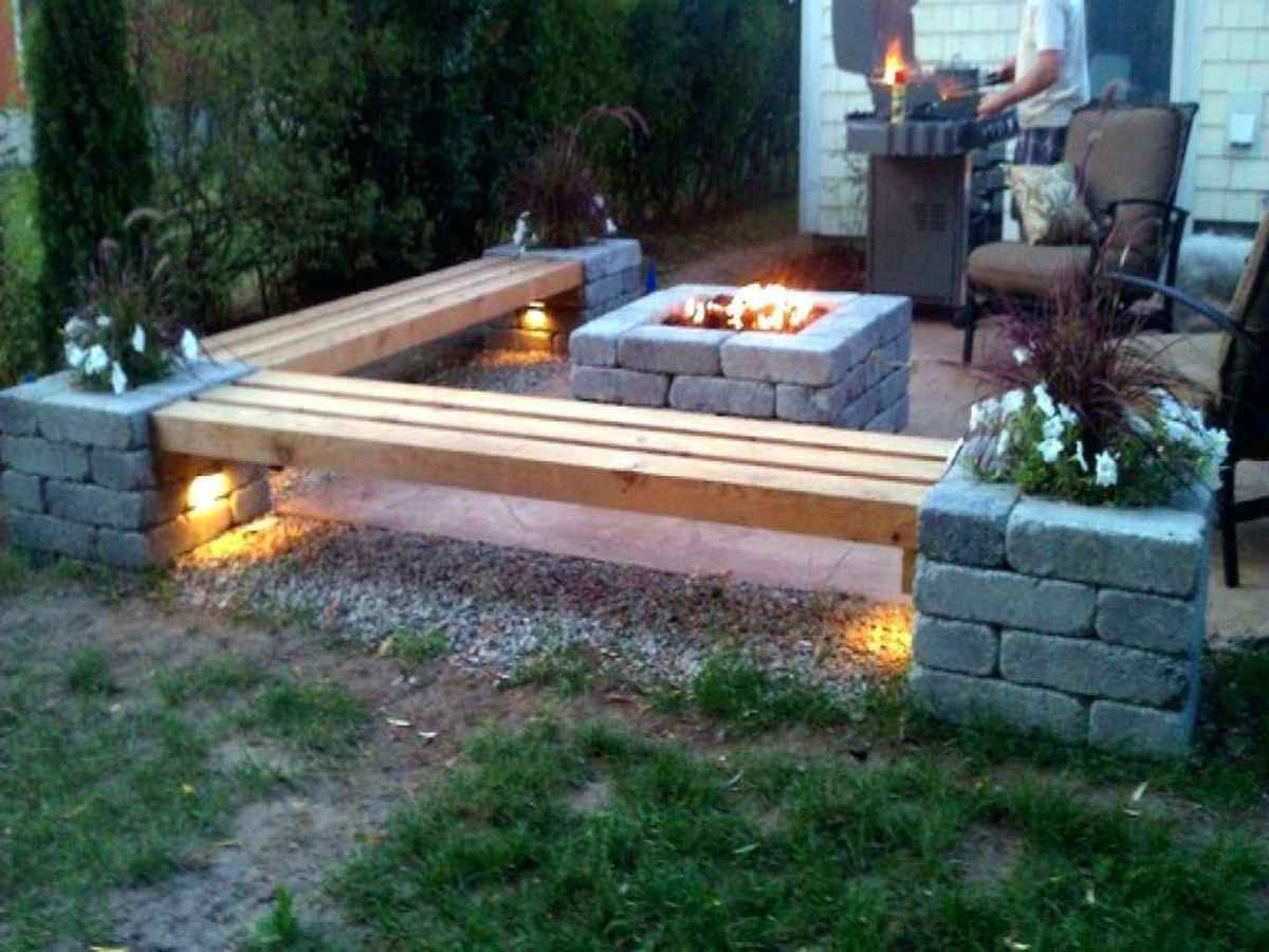 45 cozy outdoor fire pit seating design ideas for backyard