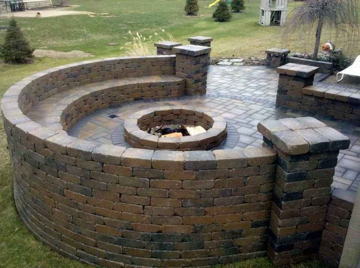 63 cozy outdoor fire pit seating design ideas for backyard