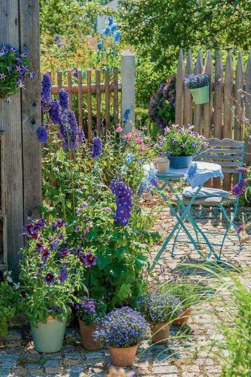 71 beautiful front yard cottage garden inspiration ideas